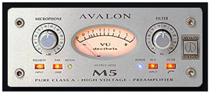 Avalon_M5_Mikrofon_Preamp_Vokali_Za_Reklame_Radio_Tv