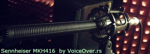 voice over snimanje mikrofon